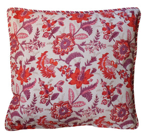"Cotton Cushion Cover - Square 18"" x 18"" - Anokhi"