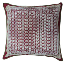 "Load image into Gallery viewer, Cotton Cushion Cover - Daisyhead - Square 24"" x 24"""