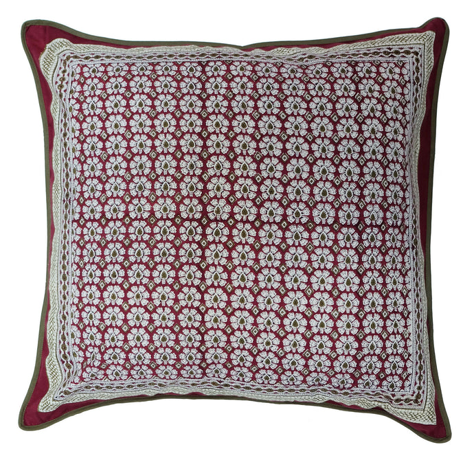 Cotton Cushion Cover - Daisyhead - Square 24