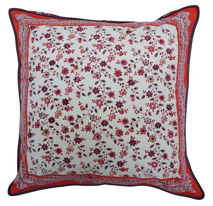 Cotton Cushion Cover - Provencal Spice - Square 24