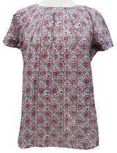 Load image into Gallery viewer, Short sleeved summer top - Tulip - Anokhi