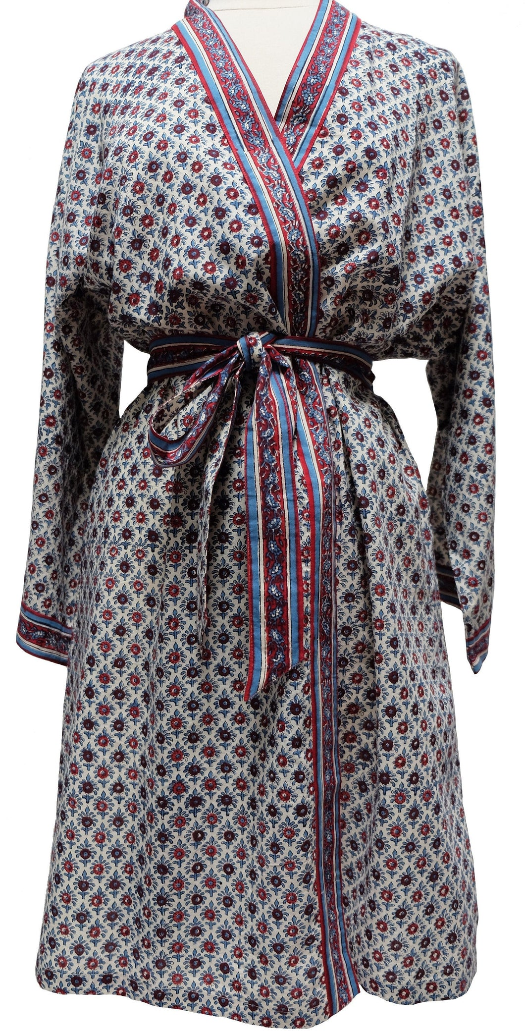 Short Robe - Starflower Booti  - free size - Anokhi