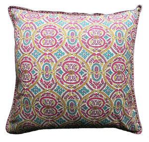 "Samakand Spice cushion cover - 24"" x 24"" - Anokhi"