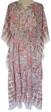 Load image into Gallery viewer, Long Kaftan - Tree of Life - free size - Anokhi