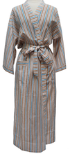 Load image into Gallery viewer, Long Kimono - Savannah Stripe - free size