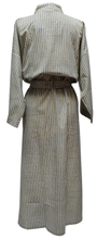 Load image into Gallery viewer, Long Kimono - Peppermint Stripe - free size - Anokhi