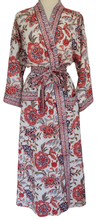Load image into Gallery viewer, Long Kimono - Poona Chintz - free size - Anokhi