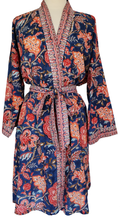 Load image into Gallery viewer, Short Robe - Poona Chintz  - free size - Anokhi
