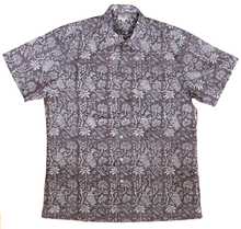 Load image into Gallery viewer, Mens Summer Shirt - Botanicals - 100% cotton - Anokhi