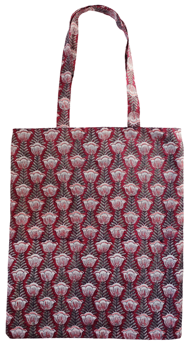 Cotton tote bag - Pentalisa Red