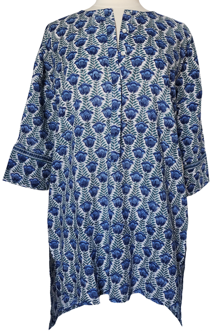 Short Long Tunic - Pentalisa Jade - Anokhi