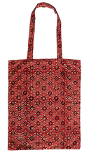 Load image into Gallery viewer, Cotton tote bag - Trellis Terracotta - Anokhi