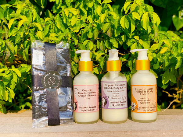 有手有腳系列   Natural Beauty SkinCARE® + Sunia K™: Hand and Body Care Set
