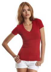 Jerico Deep V Bamboo Stretch T-Shirt - North Latitude