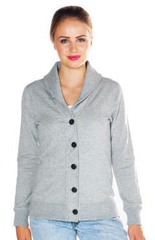 Redwood Classics Women's 14 oz. French Terry Shawl-Neck Cardigan - North Latitude