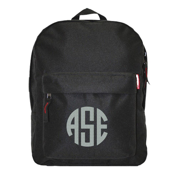 Monogrammed Custom Backpack