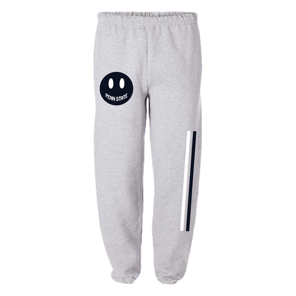 Custom College Smiley Sweatpants