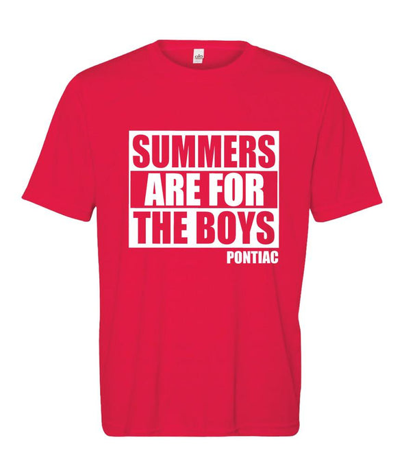 Custom Camp - Summers Are For The Boys - Performance Shirt