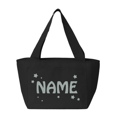Custom Name Lunch Bag with Stars