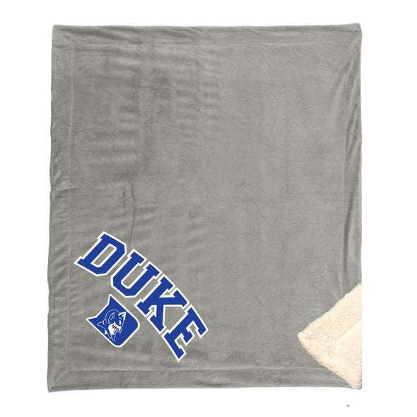 Classic College Plush Sherpa Blanket