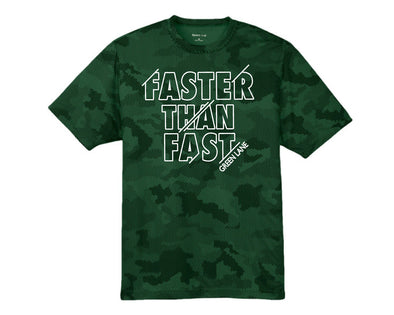 Camp Faster Than Fast Camo Performance Tee