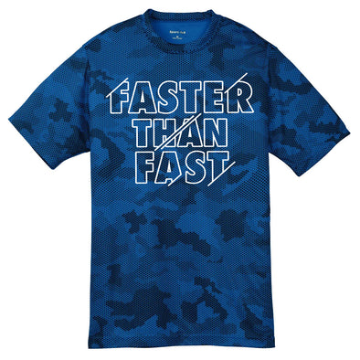Faster Then Fast Camo Performance Tee