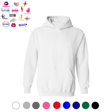 Custom Hoodie - Girls Personalized Graphics
