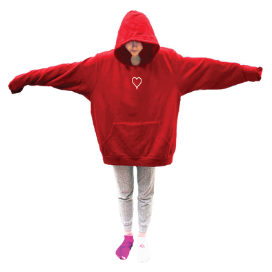 HUMONGOUS Hoodie - Valentines Day - Heart