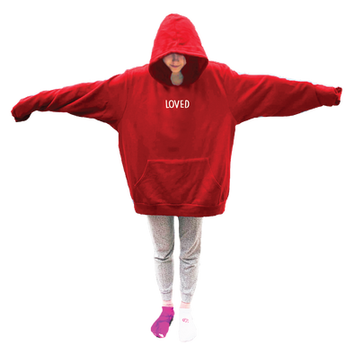 HUMONGOUS Hoodie - Valentines Day - Loved