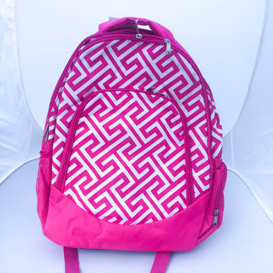 Pink Dimensional Backpack