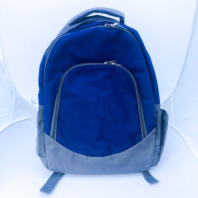 Navy and Grey Backpack