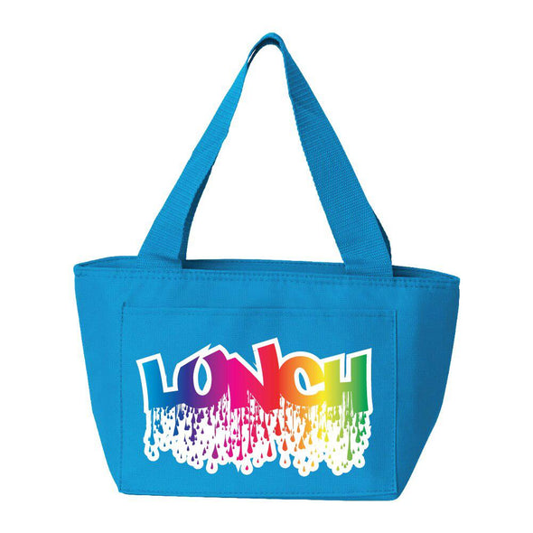 Rainbow Drips Lunch Bag