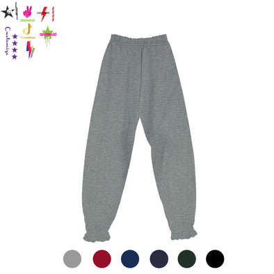 Solid Sweatpants - Girl's Name Drop - Custom Bar
