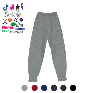 Solid Sweatpants - Custom Text & Icon - Custom Bar