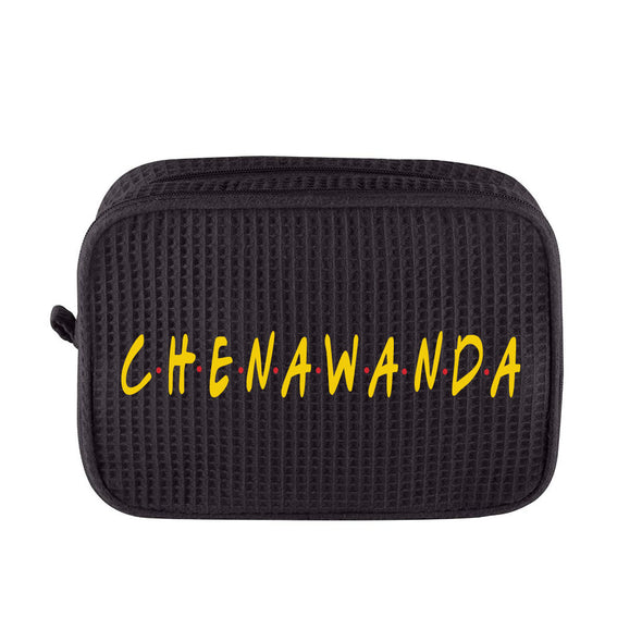 Camp Friends Large Waffle Cosmetic Bag
