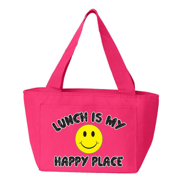 Lunch Is My Happy Place Lunch Bag