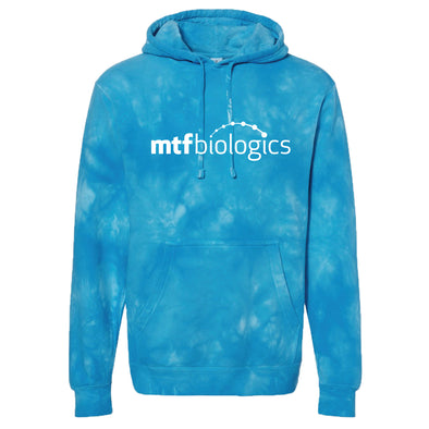 MTF Biologics - Independent Trading Tie-Dyed Hooded Sweatshirt - Blue