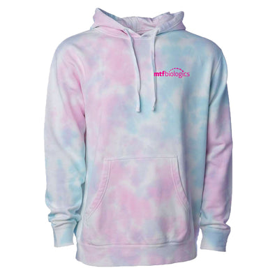 MTF Biologics - Independent Trading Tie-Dyed Hooded Sweatshirt - Cotton Candy