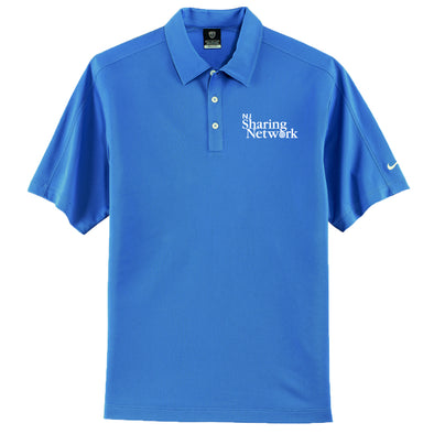 NJ Sharing Network Nike Tech Sport Dri-FIT Polo - Blue