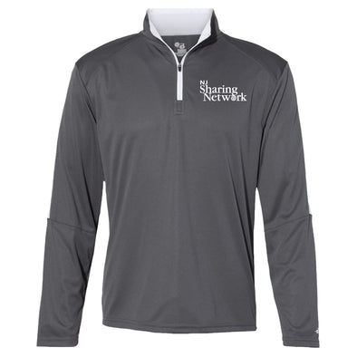 NJ Sharing Network Sideline Quarter-Zip Pullover