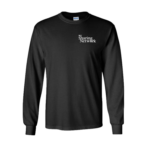 NJ Sharing Network Classic Long Sleeve T-Shirt - Black