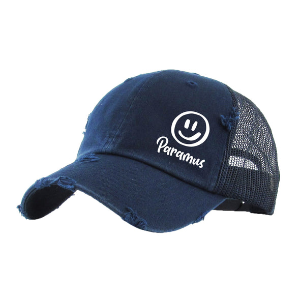 Paramus - Mesh Back Distressed Hat
