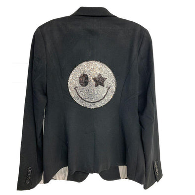 Limited Edition Smiley Sequin Blazer - Size 6