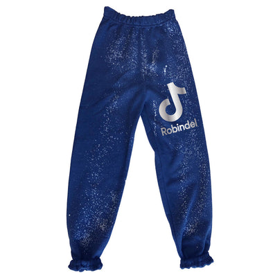 Camp Tik Tok Splatter Paint Sweatpants