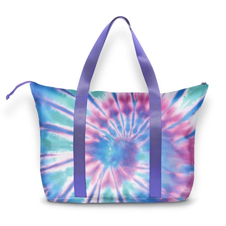 Top Trenz Ice Tie-Dye Tote Bag