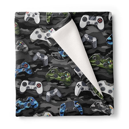 Blanket Video Game Controller Style