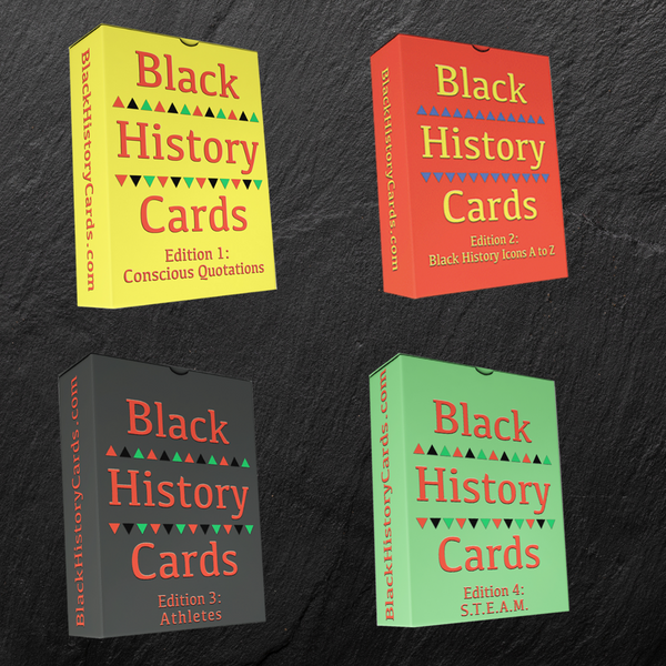 Black History Cards Bundle