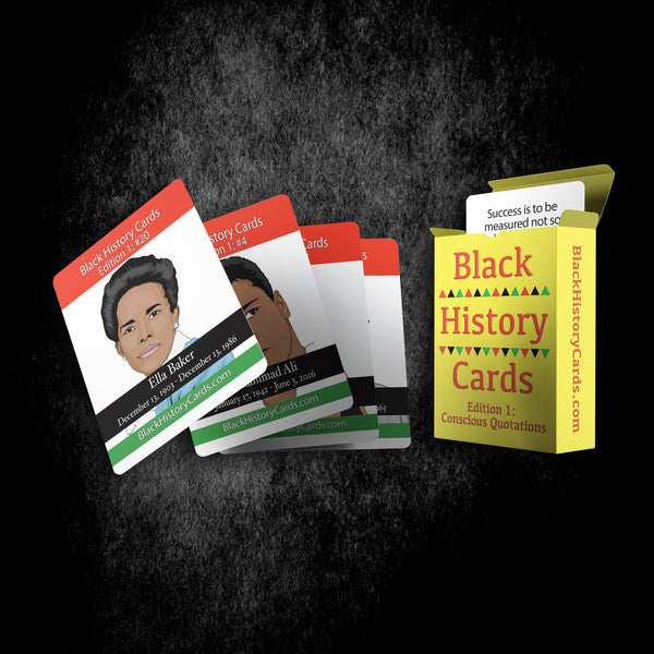 Black History Cards, Edition 1: Conscious Quotations