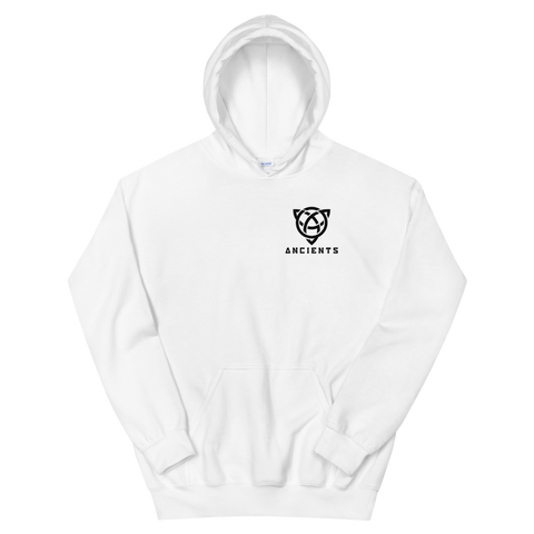Ancients Small Logo w/ Text Hoodie