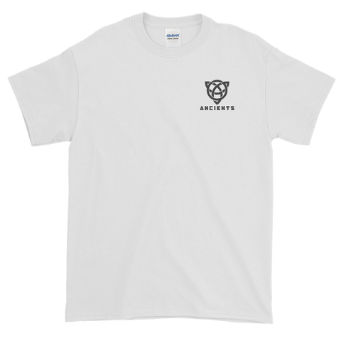 Embroidered Ancients Small Logo T-Shirt w/ Text